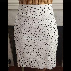 White House Black Market Layered Tiered Skirt